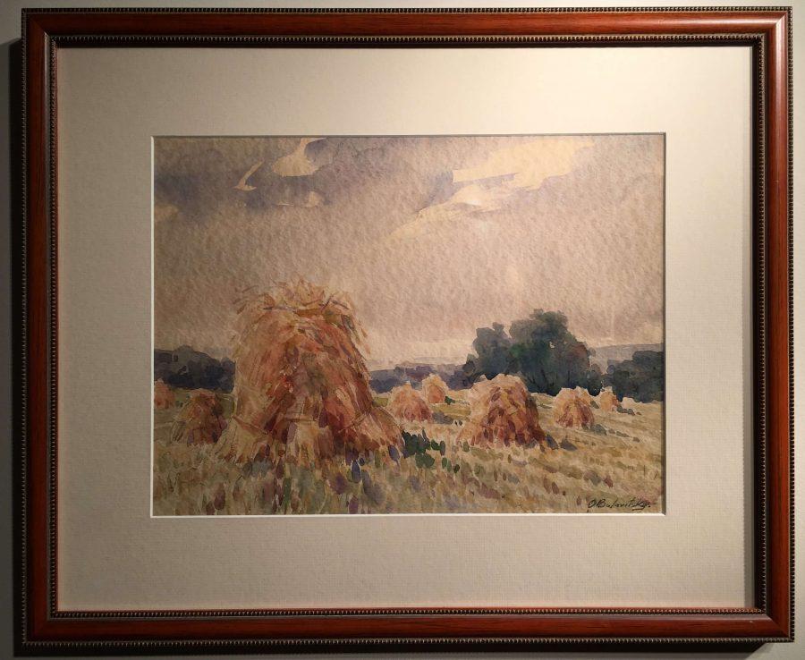 Hay Shocks by Olexa Bulavitsky