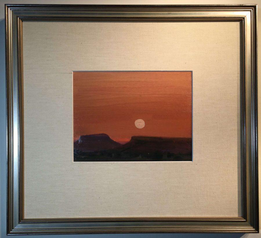 Moon Over Mesa
