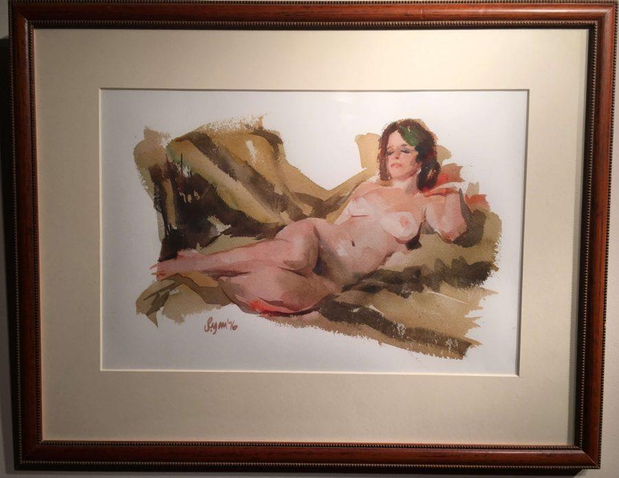 Reclining Nude by Ryan